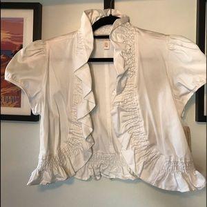 White Bolero Jacket from Dress Barn